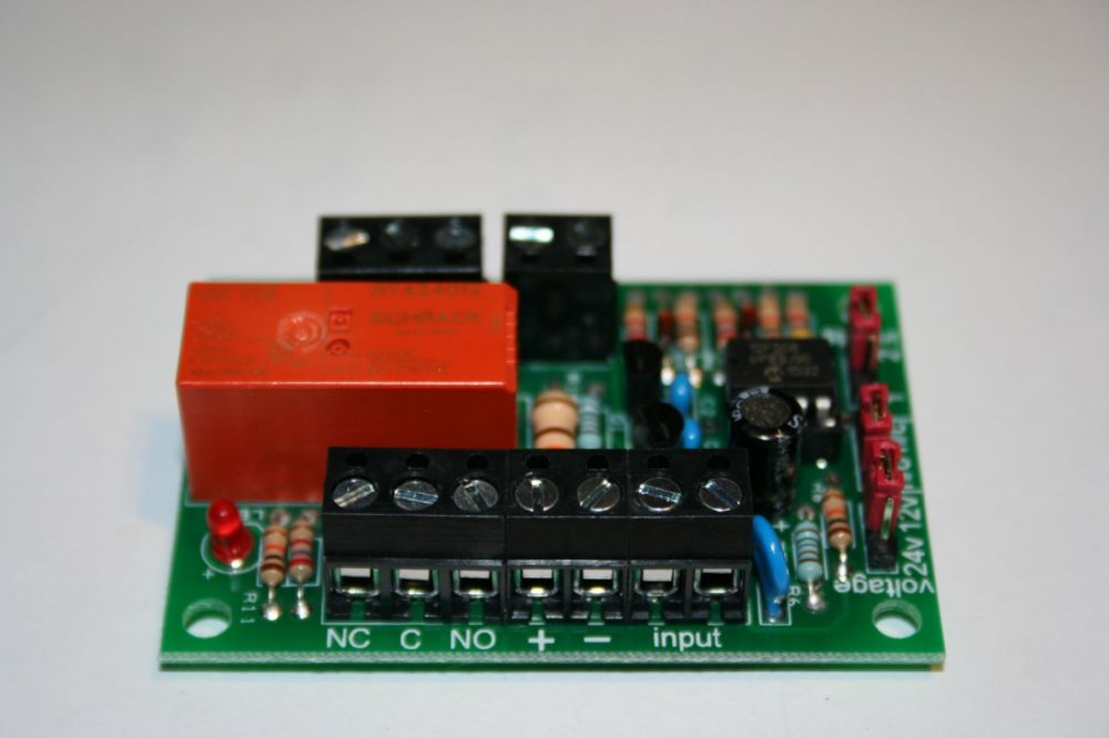 Latching relay board 1 or 2 input